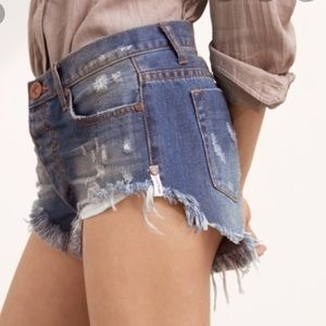One by One Teaspoon Bonitas Shorts